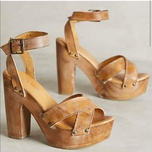 Bed Stu - Madeline Heel in Tan Rustic